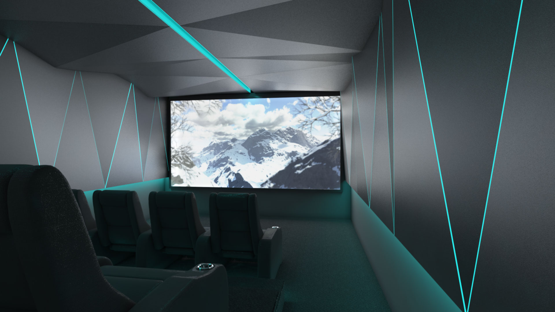 Platinum Vision Private Home Cinema Theater