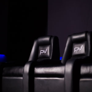 Private Home Cinema Seating by Platinum Vision